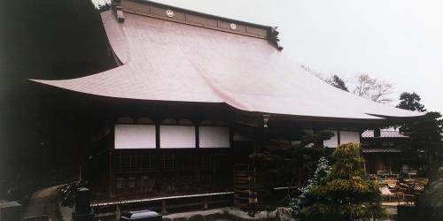 鳴澤山 常善寺 本堂及び山門屋根